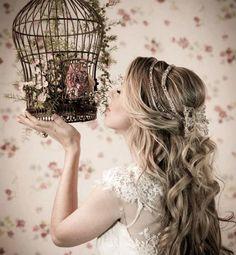 Noiva De Cabelo Solto: 33 Idéias Para Você Escolher O Seu Penteado