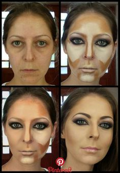 Contour by vicky romans www vixenart co za Makeup Tips Contouring, Makeup 101, Face Contouring, Contour Makeup, Skin Makeup, Beauty Make-up, Beauty Hacks, Maquillage Urban Decay, Power Of Makeup