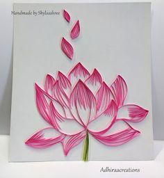 Quilled Lotus