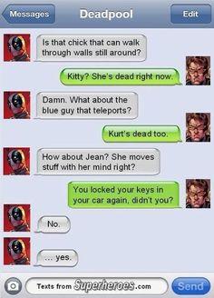 Marvel   Humor   Deadpool