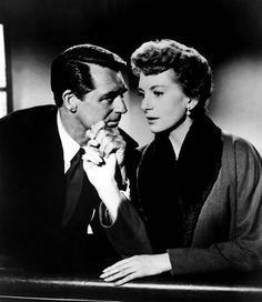 A classic tear-jerker - Cary Grant and Deborah Kerr in 'An Affair to Remember', 1957.