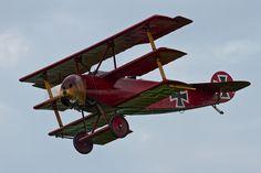 Fokker Dr.I #triplane #WW1 #replica