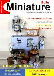 Incontournable pour tous les miniaturistes. A télécharger sur internet ! free e-mag- miniature magazine # 5