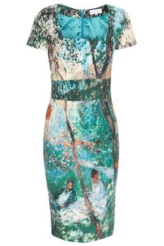 Abstract Cotton Dress By PAUL