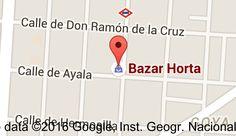 Mapa de Bazar Horta