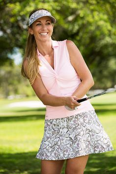 Daily-Sports-2016-Kollektion-FJ-Sommer-Heaven_380x570 Golf Outfit, Ladies Golf, Rose, Lady, Lace Skirt, Clothes For Women, Skirts, Ss16, How To Wear