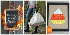 20 Crafts To Get You Ready for Fall  - CountryLiving.com
