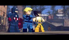Lego Marvel Superheroes Video Game Snapshot!