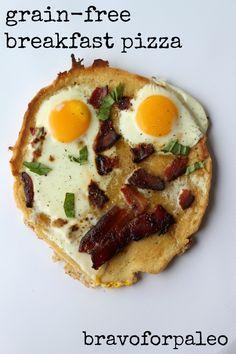 Grain-Free Breakfast Pizza