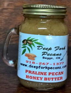 pecans at Deep Fork Pecans southeast of Tulsa. They offer pecan butter ...