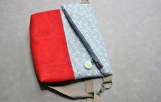 FreeBook: Nähanleitung Foldover-Tasche San Diego | Schultertasche - Nähanleitungen bei Makerist