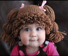 Cabbage Patch Kid Wig