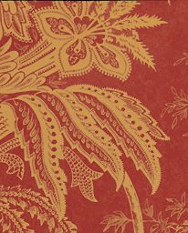 Tapet Jacobean - Red/Toffee från Sanderson