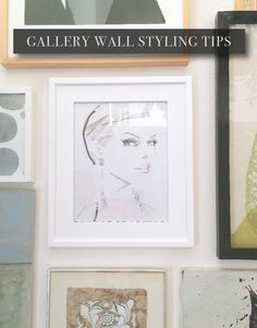 Tips on how to style a gallery wall