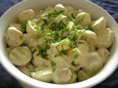 kartoffelsalat med karry
