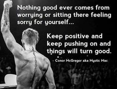 [Image] Conor McGregor Quote : GetMotivated