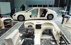 OG |1992 Bugatti EB112 | Full-size Epowood mock-up in progress