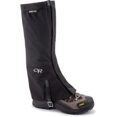 Outdoor Research Crocodile Gaiters: Waterproof.  For hiking and for walking without destroying my pants.
