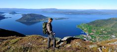 Hiking along the Hardangerfjord in Norway  with your camera is pure joy!