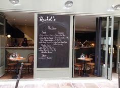 Rachel's cake. 25 rue du Pont au Choux, 75003 Paris. M° Filles du calvaire. Pas de réservation => Brunch à 18,9 €, boisson non comprises, avec oeufs, patates et bacon, pancakes, fromage blanc et muesli. Très bon. 2 étages. Note : 4/5