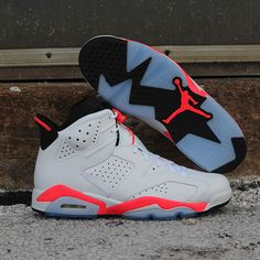 acfcbad4a19 Originally released in the Air Jordan 6 Retro in White Infrared-Black will  be available this Saturday to coincide with the 2014 NBA All-Star Game