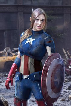 Female Cap. I find this WAY more attractive than the actual Cap actually. XD