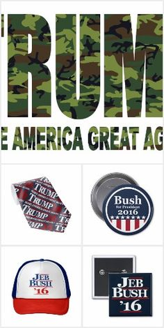 2016 presidential election banners and gifts