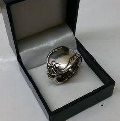 192 mm Besteckschmuck Silberbesteck Ring von BesteckschmuckBaron