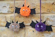 Cute Pom Pom Bats How To
