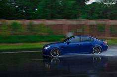 BMW E60 M5 blue rain Bmw E60, Bmw 5 Series, Blue Rain, Import Cars, Cool Cars, Automobile, Racing, Trucks, Classic