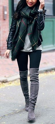 5cf9175b4e9 15 Best Grey boots outfit images