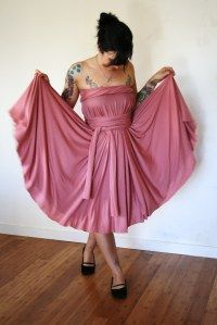 Bohemian Infinity Dress