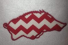 Arkansas Razorbacks Applique Embroidery design by SouthernBritches