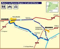 Ruta Canals d'Urgell - El Salt del Duran