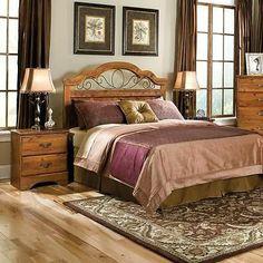 Standard Furniture Hester Heights 2 Piece Panel Headboard Bedroom Set