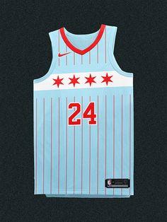 NBA Uniform Refresh on Behance Nba Uniforms, Basketball Uniforms, Basketball Jersey, Miami Vice Theme, Chicago City Flag, Jazz Colors, Flo Jo, Sports Jersey Design, Patterns