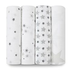 Aden And Anais Swaddle Blankets Aden & Anais Bamboo Swaddling Wrap 3 Pack Moonlightmy Absolute