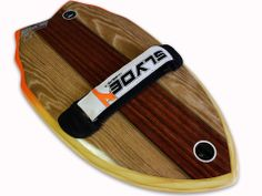 Slyde Handboards hickory Woody  handplane for bodysurfing top view $177 www.slydehandboards.com cool holiday gift for him