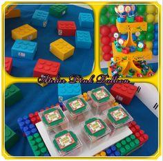 Tags,  Toppers e Lembrancinhas - Peças LEGO