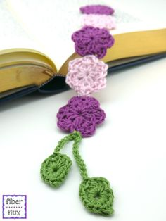 The Botanical Bookmark is a lovely little project to add a little beauty to reading time. Pretty little blossoms are accompanied by two ...