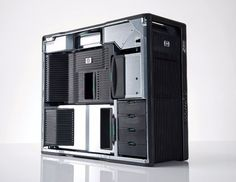 The HP dual CPU workstation is one of the fastest and most powerful HP has ever built. Grab it with dual 6 core CPU's, powerful graphics and SSD drive as it's on SALE NOW ! Computer Parts And Components, Systems Thinking, Computer Workstation, Power Led, Commercial Design, Hdd, Save Energy, Locker Storage, Windows