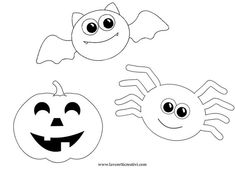 Risultati immagini per halloween drawings - Kids halloween Sac Halloween, Moldes Halloween, Halloween Poems, Halloween Templates, Adornos Halloween, Manualidades Halloween, Halloween Drawings, Toddler Halloween, Halloween Crafts For Kids