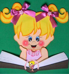 Qmimos - Fazendo Arte brincando: Placas Para Biblioteca
