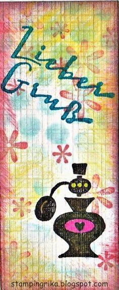 stamping rika: parfum
