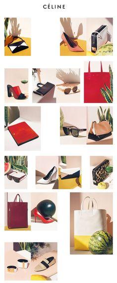 Celiné December Newsletter // shadows and slight props Web Layout, Layout Design, Design Art, Email Newsletter Design, Email Design, Minimal Web Design, Branding, Brand Identity, Celine