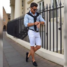 Summer style. Well dressed man
