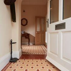 Bring a bit of tradition into your home with  Arundel with Bronte victorian floor #tile design - Original Style