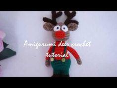 Amigurumi deer crochet tutorial
