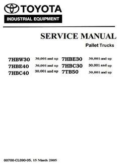 Toyota 8FGU151820, 8FGU25, 8FGU30, 8FGU32, 8FGCU20