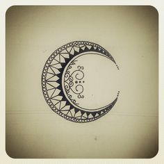La Luna tattoo design